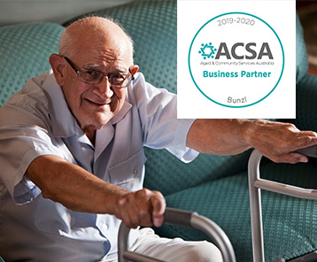 ACSA represent & support members in providing affordable housing & home care, proud Bunzl partner