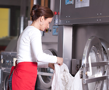 Kwikmaster Professional can deliver powerful cleaning of linen & laundry. Available to buy online from the Bunzl shop.