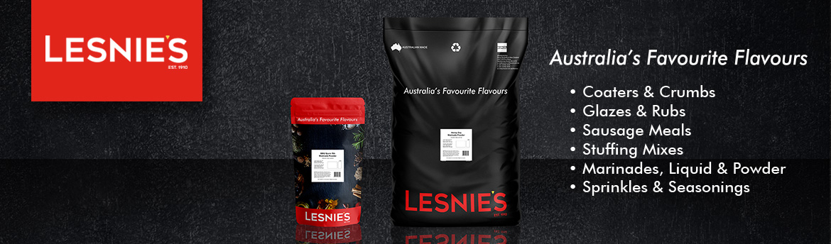 Lesnies Butcher Supplies & Ingredients, Australia's Favourite Flavours since 1910