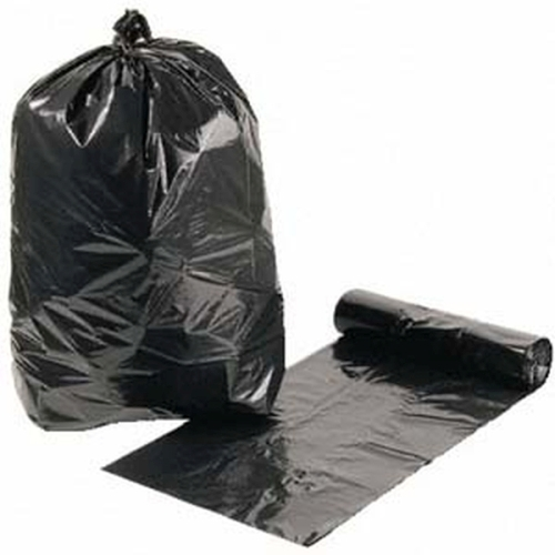 Garbage Bag Heavy Duty Roll Black product photo  L