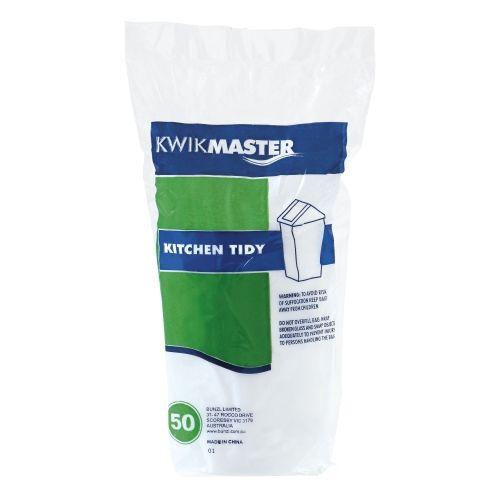 Bin Liner - Kitchen Tidy White 18L product photo  L
