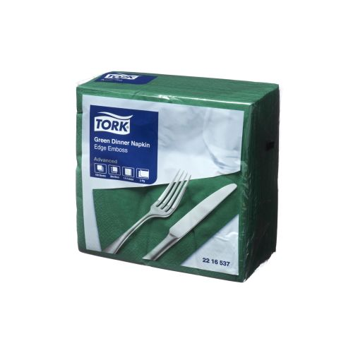 TORK NAPKIN DINNER 2PLY Green product photo  L