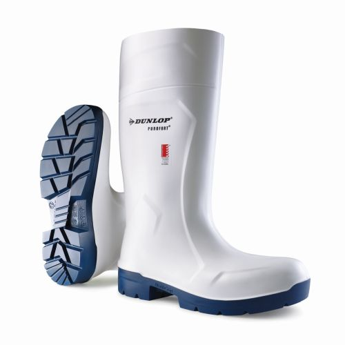 Food Pro Multigrip Safety Gumboot White product photo  L