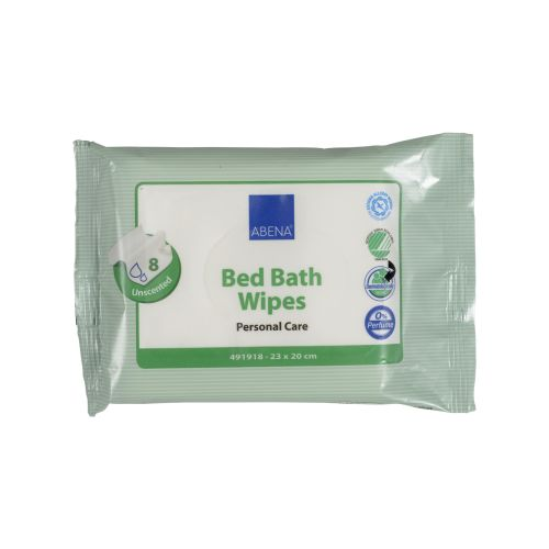 Bed Bath Wipes, 20 x 23cm, 8pc/pack product photo Front View L