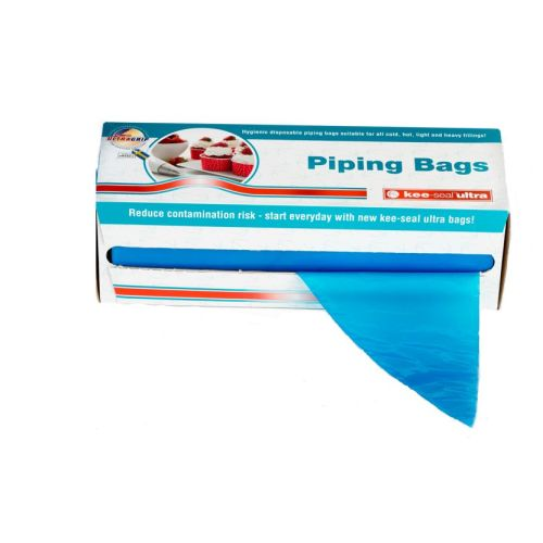 Disposable Piping Bag Textured Blue 535mm product photo  L