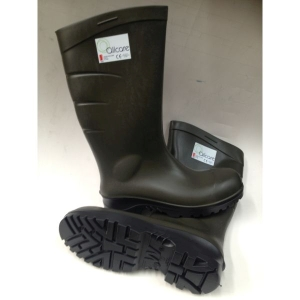 Safety PU Gumboot Olive product photo