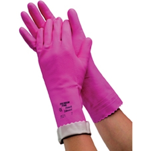 Glove Ansell Silverlined Pink product photo