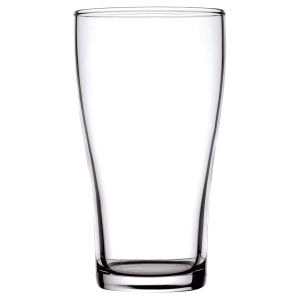 Conical Beer Glass 425mL Tempered/Nucleated product photo
