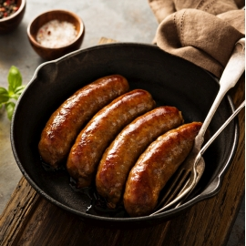 MEAL TP SAUSAGE GLUTEN FREE 6 X 3.5KG product photo