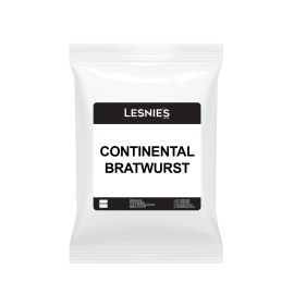MEAL CONTINENTAL BRATWURST GLUTEN FREE 1KG product photo