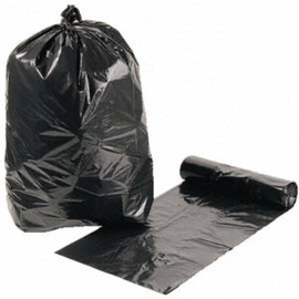 Garbage Bag Heavy Duty Roll Black product photo
