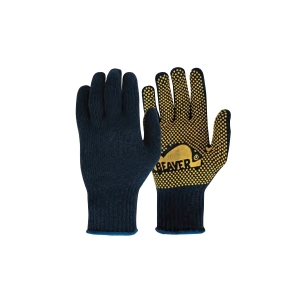 Poly Cotton PVC Polka Dot Glove product photo