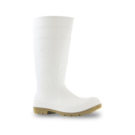 Safety Gumboot Steel Toe 400mm White product photo