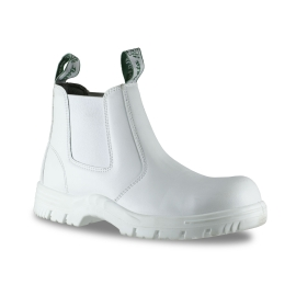 Hercules Steel Toe Safety Boot White product photo