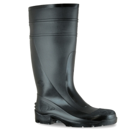 PVC Non Safety Gumboot Black product photo