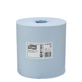 Tork Basic Paper Blue Centrefeed 1 Ply M2 product photo