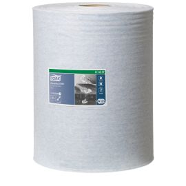 Tork Cleaning Cloth Blue Combi Roll W1/W2/W3 product photo