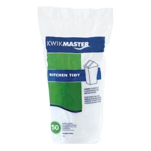 Bin Liner - Kitchen Tidy White 18L product photo