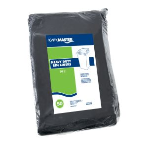Bin Liner - Heavy Duty Black product photo