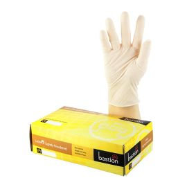 Industrial Glove, Powdered, Latex, Natural product photo