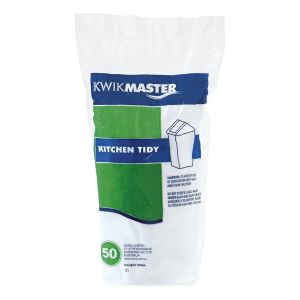 Bin Liner - Kitchen Tidy White 55L product photo