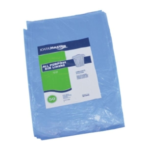 Bin Liner - All Purpose Blue 72L product photo