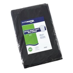 Bin Liner - Extra Heavy Duty Black product photo