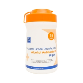 Alcohol Antibacterial Wipe 75/Tub product photo