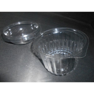 Sho Bowl Container with Dome Lid 16oz product photo