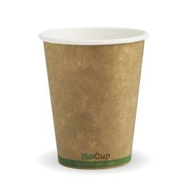 Single Wall Hot Cup Kraft 8oz product photo