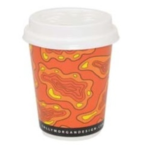 Hot Cup Double Wall Indigenous 8oz FSC product photo