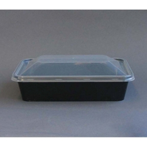 Container PP Rectangular 500ML Black product photo