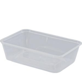Rectangular Container PP Nat 650mL product photo