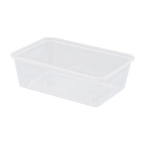 Rectangular Container PP Nat 700mL product photo