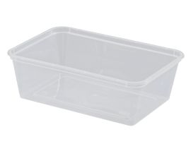 Rectangular Container PP Nat 750mL product photo