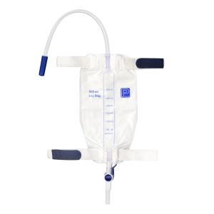 Leg Bag, Flip Tap Outlet, Sterile, 30cm Tube, 500ml product photo