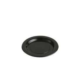 Plastic Plate PP Black 180mm product photo
