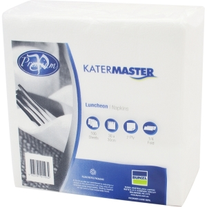 Napkin Luncheon Katermaster 2Ply White product photo