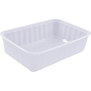 Rectangular Ribbed Container 750ml product photo