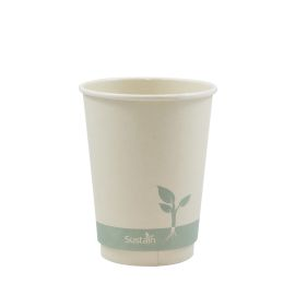 Bamboo Double Wall Hot Cup 12Oz product photo