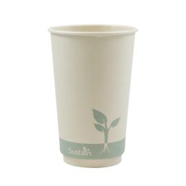 Bamboo Double Wall Hot Cup 16Oz product photo