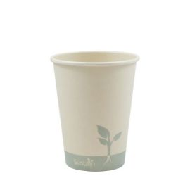 Bamboo Single Wall Hot Cup 12Oz product photo