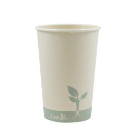 Bamboo Single Wall Hot Cup 16Oz product photo