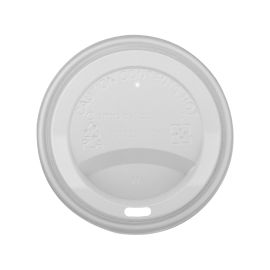 Hot Cup Lid Plastic White 12/16oz product photo