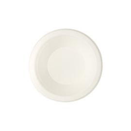 SUGARCANE BOWL ROUND WHITE 12 0Z product photo