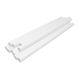 Jumbo Straw Paper White 210mm product photo