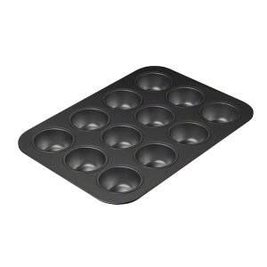 Muffin Pan Prof Non Stick 12 Cup 400x280 product photo