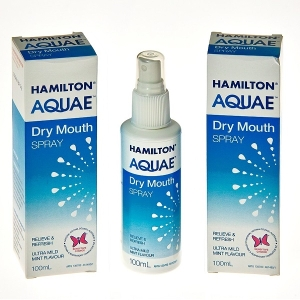 Hamilton Aquae Dry Mouth Spray, 100mL product photo