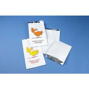BAG FOIL LINED X/L PTD TASTY CHICKEN product photo