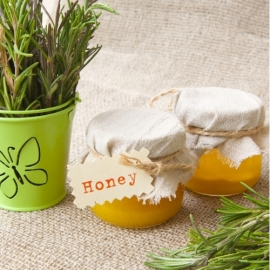 Manuka Honey and Rosemary Sprinkle Natural GF product photo
